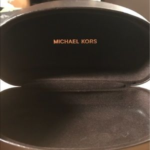 Michael Kors sunglass case in excellent condition.
